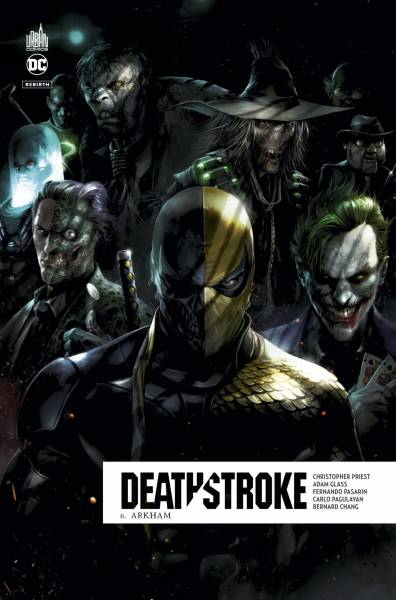 DEATHSTROKE REBIRTH #6