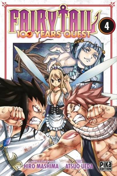 FAIRY TAIL – 100 YEARS QUEST #4