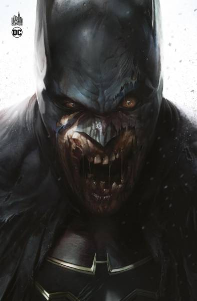DCEASED COUVERTURE BATMAN ZOMBIE