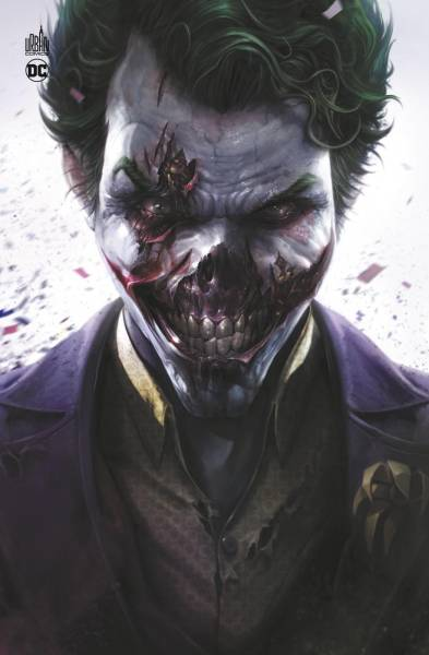 DCEASED COUVERTURE JOKER ZOMBIE