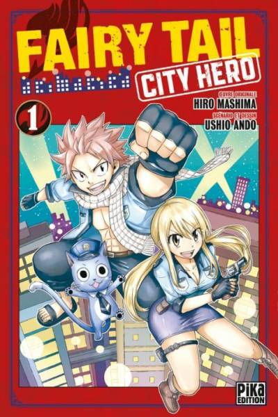 FAIRY TAIL – CITY HERO #1