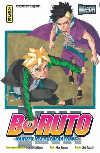 BORUTO – NARUTO NEXT GENERATIONS – #9