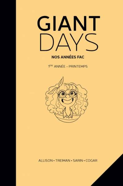 GIANT DAYS: 1ERE ANNEE : PRINTEMPS
