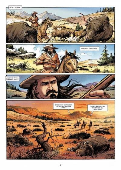 WEST LEGENDS #4: BUFFALO BILL - YELLOWSTONE