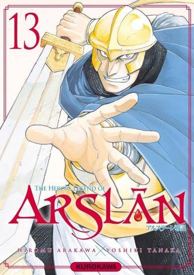 THE HEROIC LEGEND OF ARSLAN #13