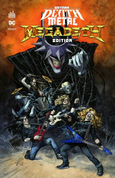 BATMAN DEATH METAL #1: MEGADETH EDITION