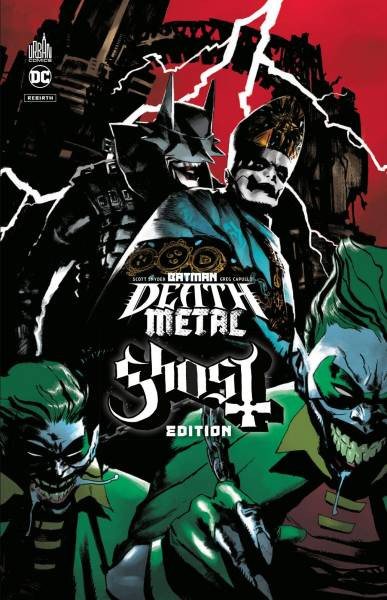 BATMAN DEATH METAL  #2: GHOST EDITION
