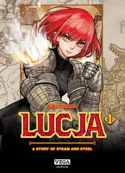 LUCJA, A STORY OF STEAM AND STEEL #1: LUCJA, A STORY OF STEAM AND STEEL, TOME 1