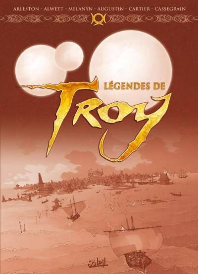 LEGENDES DE TROY: COFFRET DE 3 ALBUMS