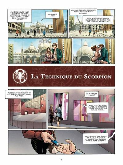 ZODIAQUE #8: LA TECHNIQUE DU SCORPION