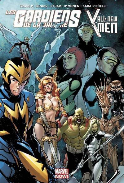 LES GARDIENS DE LA GALAXIE: ALL NEW X-MEN