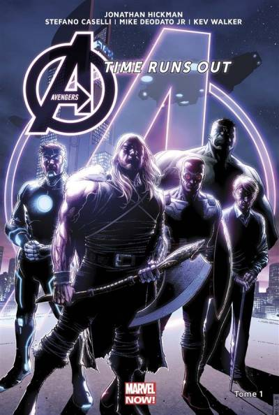 AVENGERS TIME RUNS OUT #1